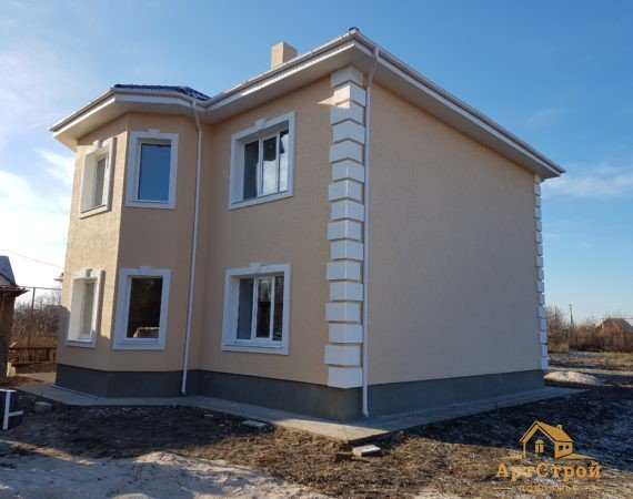 Дом с эркером 168м2 в с. Ташелка