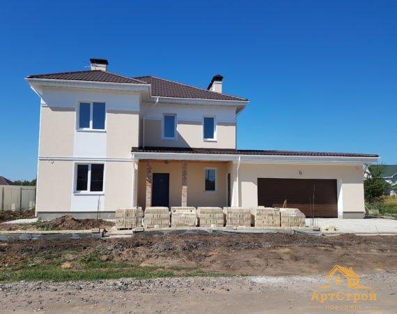 Двухэтажный дом 260м2 в поселке Приморский