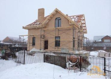 Кирпичный дом 150м2 в с.Ягодное
