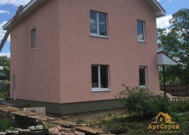 Двухэтажный дом 130м2 в поселке Прибрежный