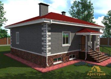 Проект дома УС 04-19